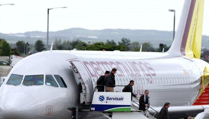 Lidojumus pa Eiropu sāk zemo cenu aviokompānija 'New Germanwings'