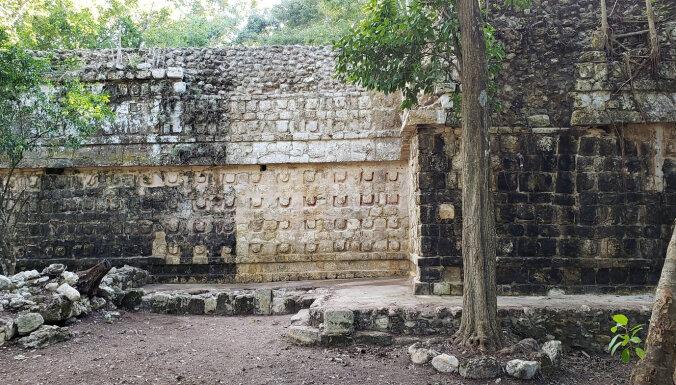 Arheologi Meksikā atklāj antīku maiju pili