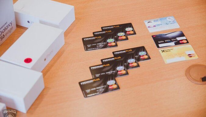 В Риге задержаны двое румын, проводившие махинации с банковскими картами