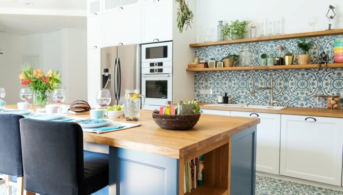 Nost ar garlaicību! Paņēmieni, kā virtuvi padarīt interesantāku