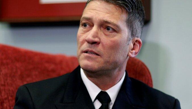 Trampa ārsts atsauc kandidatūru ASV veterānu lietu ministra amatam