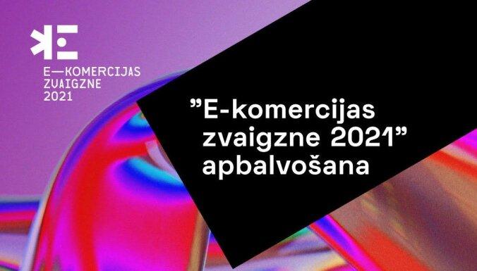 'E-komercijas zvaigzne 2021' apbalvošanas ceremonija