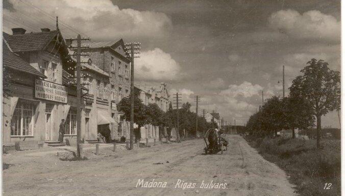 Vēsturiski foto: Kā 20. gadsimta sākumā izskatījās Madonā