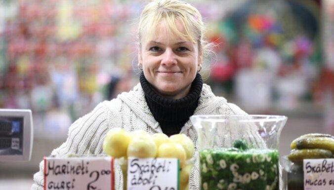 """ФОТО: """"Вкусный день"""" на Рижском центральном рынке"""