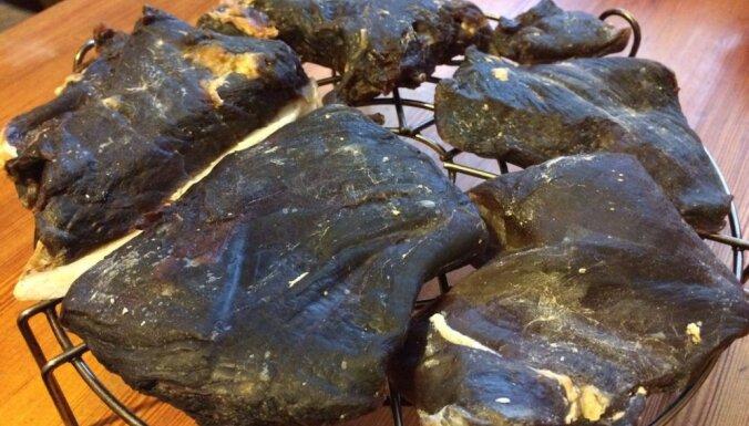 Fotorecepte: kā pagatavot vītinātas gaļas delikatesi – basturmu