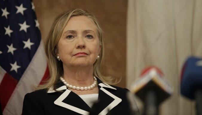 Klintone: ASV ir gatavas sadarboties ar jauno Gruzijas parlamentu