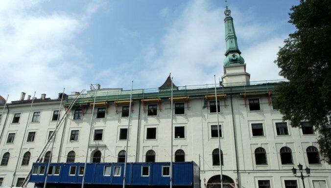 Prezidents Rīgas pilī atgriezīsies vien pēc tās nodošanas ekspluatācijā