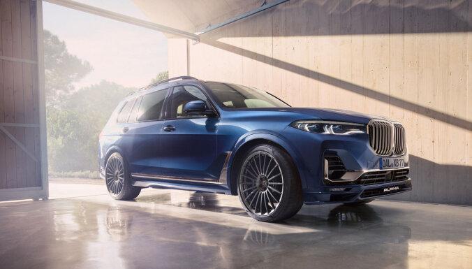 'Alpina' pārbūvētais 'BMW X7' ar 621 ZS un 4,2 sekundēm līdz 'simtam'