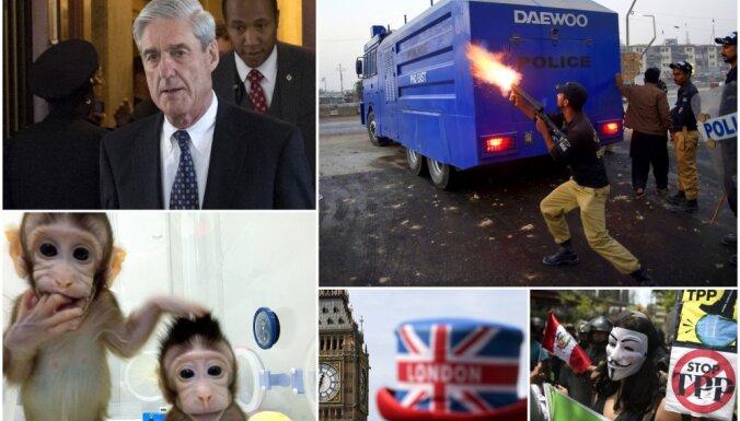 Nedēļa pasaulē: Pakistānas nāves vienība, britu grābstīšanās skandāls un klonēti pērtiķīši