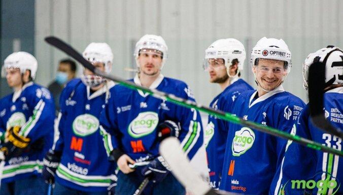 'Mogo/LSPA' un 'Zemgale/LLU' hokejisti izcīna drošas uzvaras OHL otrajā spēļu dienā