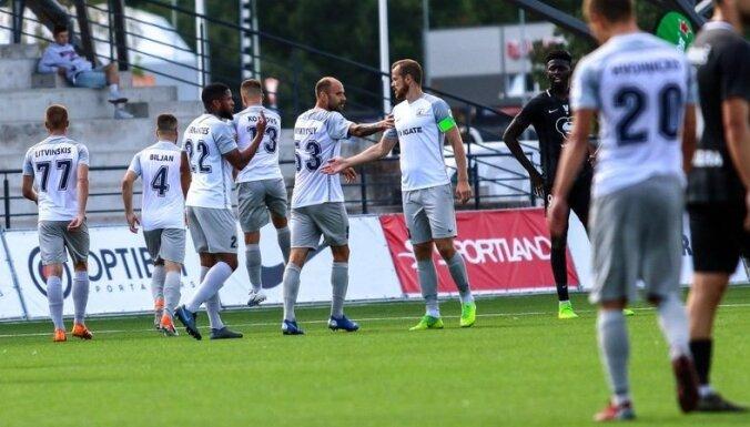 'Jelgavas' futbolisti iekļūst Latvijas kausa pusfinālā