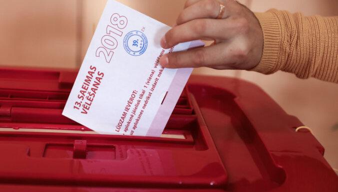 Vēlētāju aptauja: Rīgā un Latgalē līderos 'Saskaņa', Kurzemē un Zemgalē – 'KPV LV'