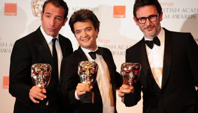 BAFTA ceremonijā turpinās filmas 'The Artist' triumfs