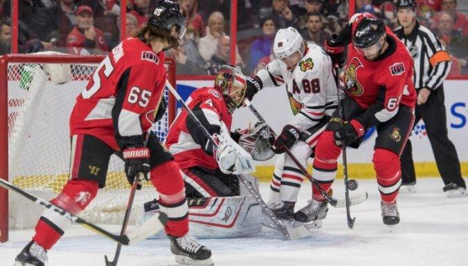 Keins NHL spēlē gūst piecus rezultativitātes punktus