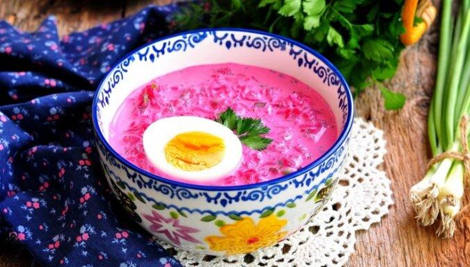 Zupa, salāti un pamatēdiens priekšpēdējās Lielā gavēņa nedēļas darbdienām