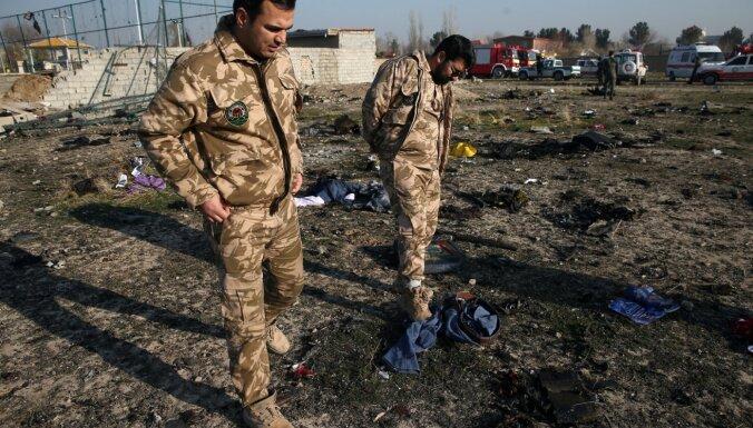 Irāna atzīst Ukrainas pasažieru lidmašīnas notriekšanu