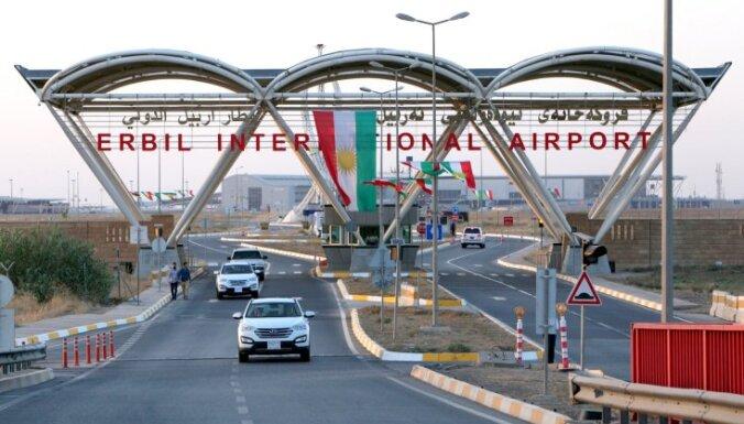 Irāka pārtrauc pēc Kurdistānas neatkarības referenduma noteikto gaisa telpas blokādi