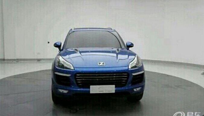 Kārtējais ķīniešu pakaļdarinājums – 'Zotye T700' kā 'Porsche Macan'