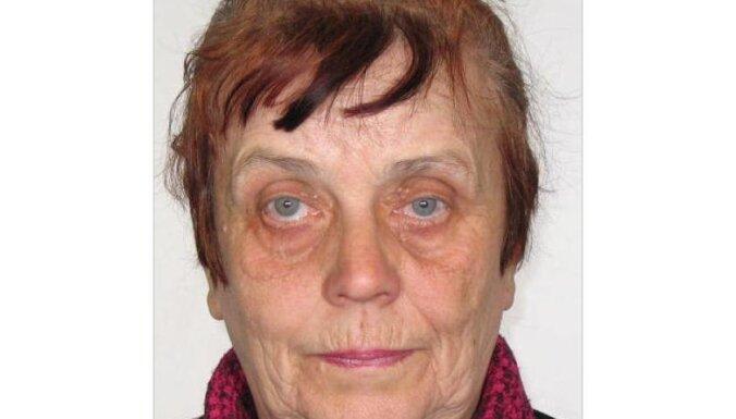 Полиция разыскивает пропавшую без вести пенсионерку