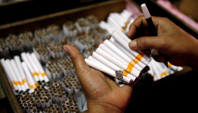 Pierīgā atklāta pamatīga nelegālo cigarešu ražotne