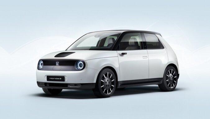 'Honda' parādījusi ražošanai gatavo retro stila elektromobili