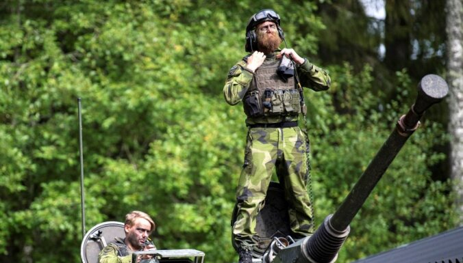 'Delfi' no Strasbūras: Zviedru opozīcijā nostiprinās ideja par dalību NATO