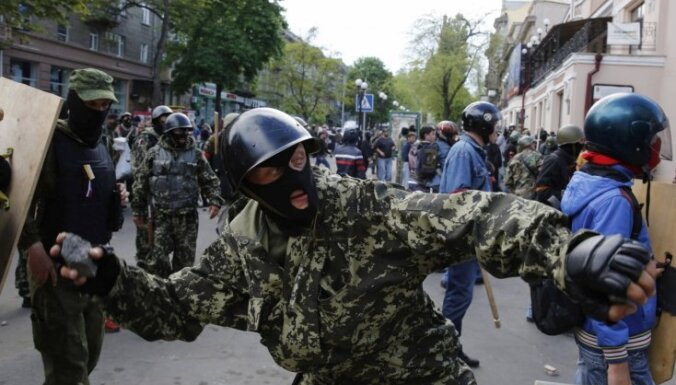 ВИДЕО: массовые столкновения в Одессе, есть раненые и погибшие