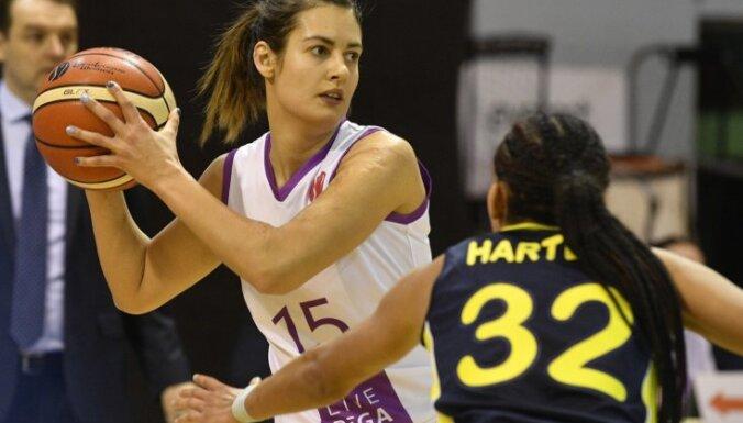 'TTT Rīga' basketbolistes FIBA Eirolīgā uzvar spēcīgo 'Fenerbahce'