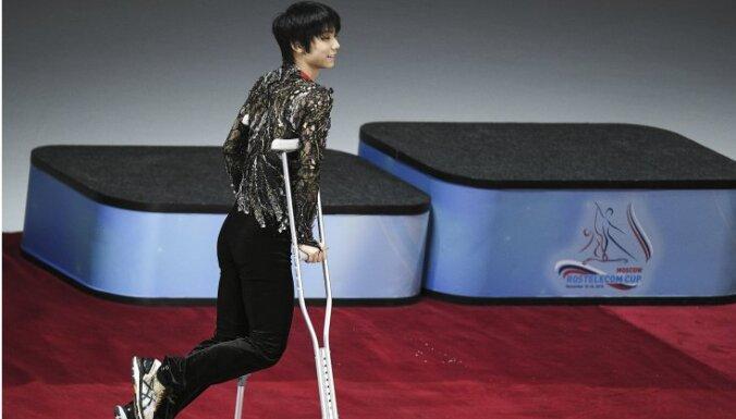 Olimpiskais čempions Hanju nevar piedalīties ISU 'Grand Prix' finālsacensībās