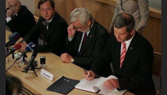 Каргин и Красовицкий в суде оспаривают продажу Parex banka за два лата
