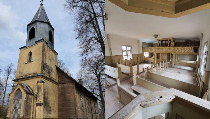 Zudusī godība, kas neatstās vienaldzīgu: piecas pamestas baznīcas Latvijā
