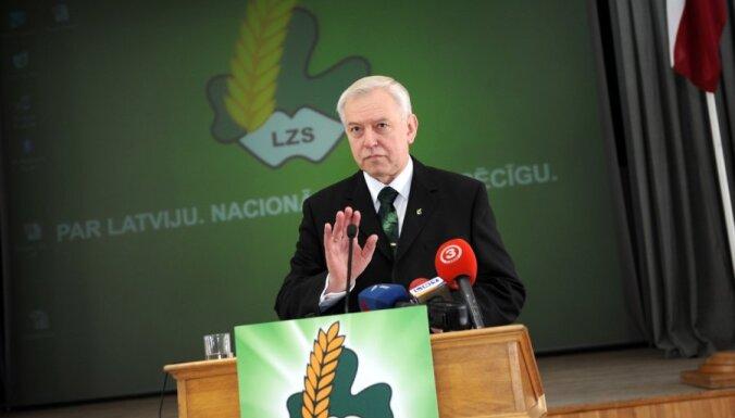 Zemnieku savienība Rīgas sarakstā iekļaus eksministrus Jurševsku un Broku