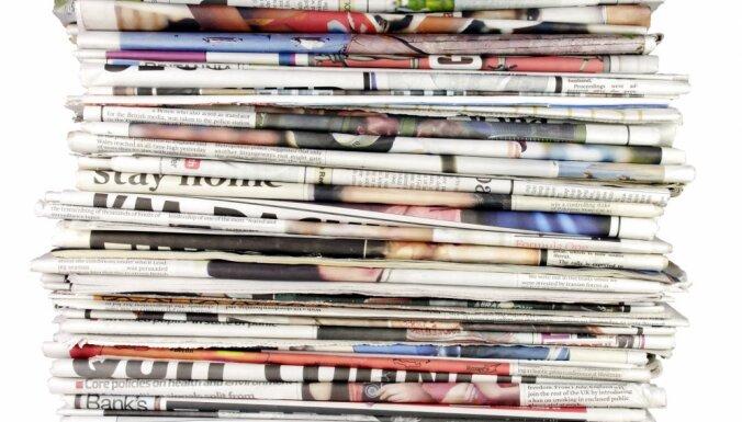 Laikraksta 'Latvijas Avīze' izdevēja zaudējumi pērn sasniedza 197 tūkstošus eiro