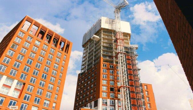 ФОТО: Латвийская компания завершила работы на строительстве двух жилых высоток в Лондоне
