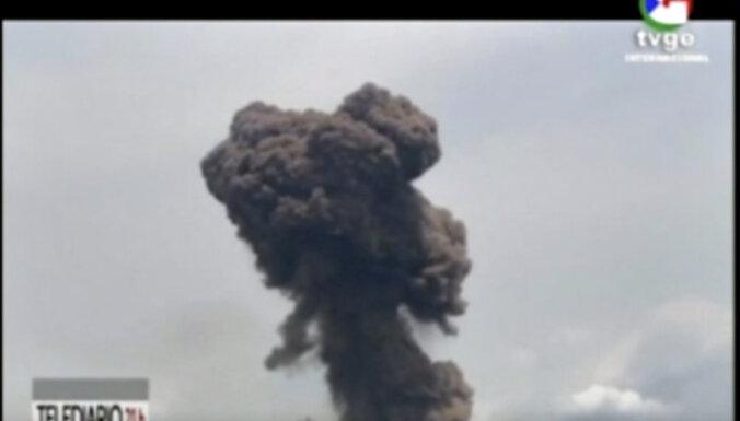 Sprādzienos Ekvatoriālajā Gvinejā ievainoti simtiem cilvēku