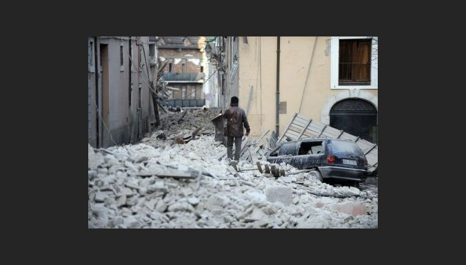 Ministrs: Itālijas zemestrīces postījumu likvidēšana izmaksās 12 miljardus eiro