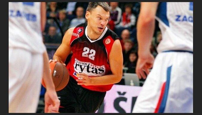 Šarūns Jasikēvičs atteicis Telavivas 'Maccabi'