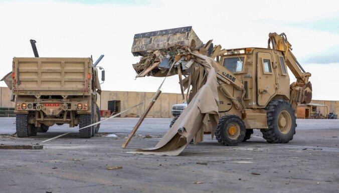 Irānas raķešu triecienos Irākā ievainoti 64 ASV karavīri, ziņo Pentagons