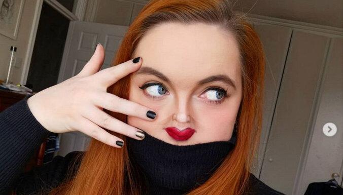 Не пугайтесь, это новый челлендж: женщины начали массово создавать оптический макияж