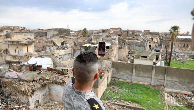 Irākā no cietuma atbrīvo islāmistiem Mosulu atdevušo ģenerāli