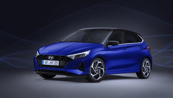 Jaunais 'Hyundai i20' ieguvis arī daļējā hibrīda sistēmu