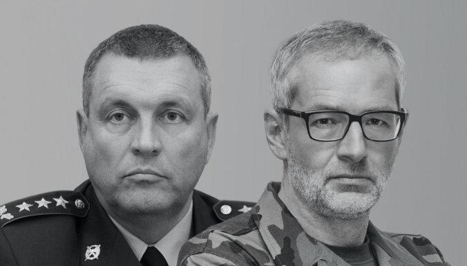 Прямая трансляция: в гостях у Яниса Домбурса на Delfi TV — командир НВС Леонид Калниньш