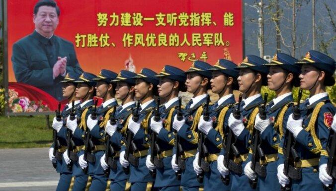 ФОТО: В Пекине провели репетицию грандиозного парада