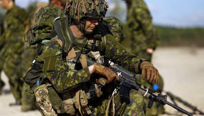 """Канада вскоре может прислать в Латвию боевые вертолеты и спецназ """"Томагавк"""""""