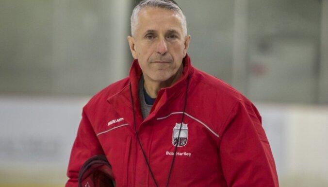 Hārtlijs par Latvijas izlasi EIHC turnīram: man patīk komanda — jauni spēlētāji, pāris potenciālie līderi