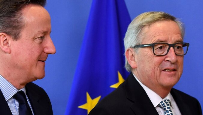 Junkers EK komisāriem aizliedz iesaistīties slepenās sarunās ar Lielbritāniju