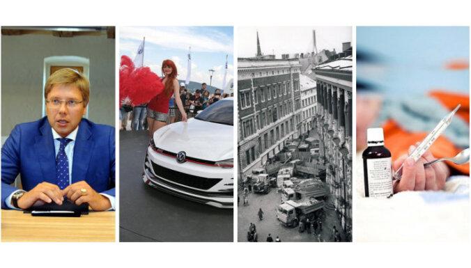 Ušakovs sabar Valsts kontroli, atklāj 'Volkswagen' karteli, piemin barikādes un plosās gripa