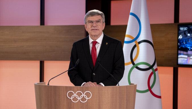 SOK prezidents Bahs paliek amatā vēl uz četriem gadiem