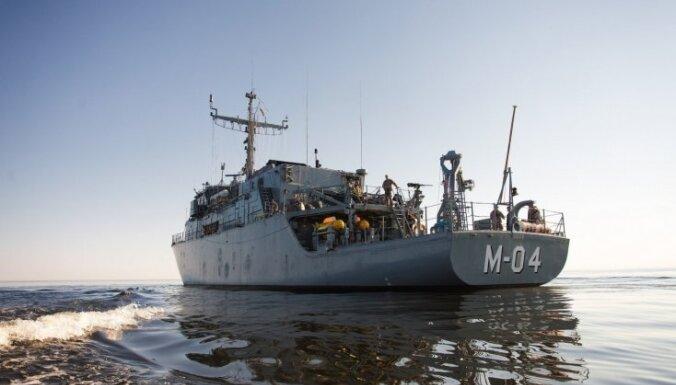 Латвия впервые возглавила 1-ю постоянную морскую противоминную группу НАТО