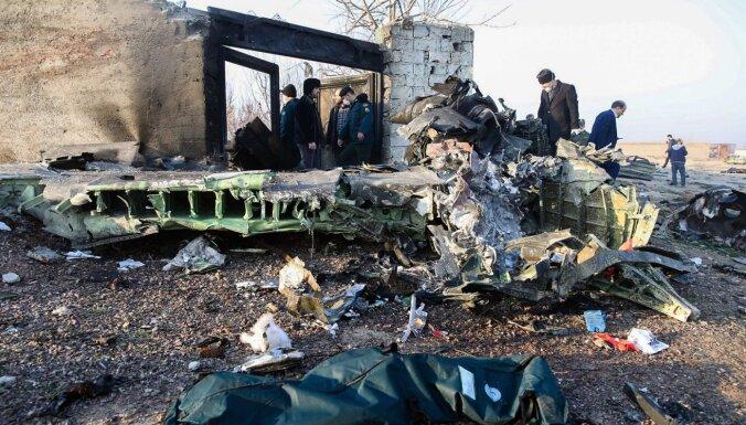 Teherāna apstrīd pieņēmumus, ka Ukrainas lidmašīna notriekta ar Irānas raķeti